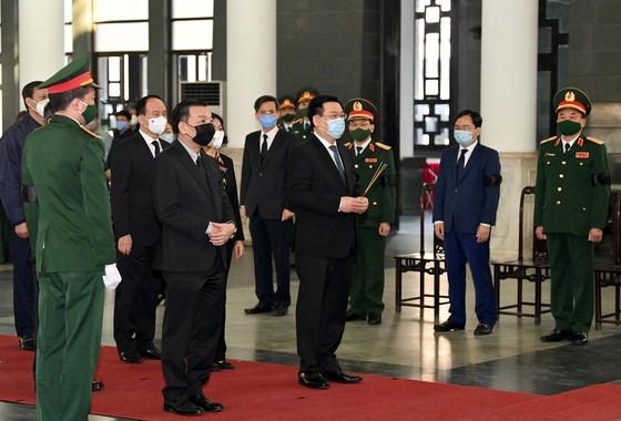 Lễ viếng nguyên Phó Thủ tướng Trương Vĩnh Trọng tại Bến Tre và Hà Nội ảnh 12