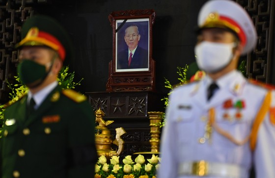 Lễ viếng nguyên Phó Thủ tướng Trương Vĩnh Trọng tại Bến Tre và Hà Nội ảnh 8