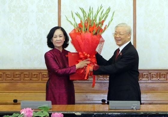 Đồng chí Trương Thị Mai được phân công làm Trưởng Ban Tổ chức Trung ương ảnh 1
