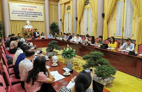 Công bố Lệnh của Chủ tịch nước về Luật Phòng chống ma túy ảnh 1