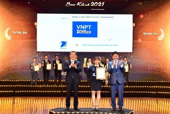 VNPT xuất sắc đoạt 16 giải thưởng Sao Khuê 2021 ảnh 1