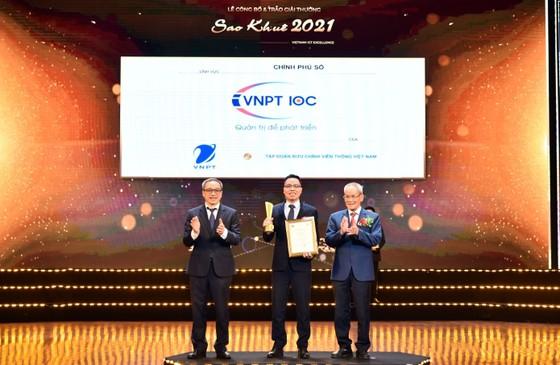 VNPT xuất sắc đoạt 16 giải thưởng Sao Khuê 2021 ảnh 3