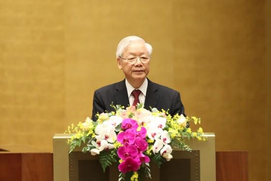 Tổng Bí thư Nguyễn Phú Trọng: Cán bộ, đảng viên phải suy nghĩ, hành động vì lợi ích chung, vì hạnh phúc của nhân dân ảnh 2