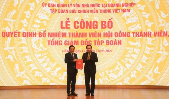 Ông Huỳnh Quang Liêm chính thức đảm nhiệm Tổng Giám đốc VNPT ảnh 1