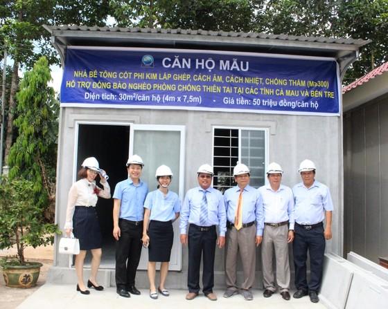 Xây 40 căn nhà bê tông cốt phi kim tặng người dân Cà Mau và Bến Tre ảnh 1