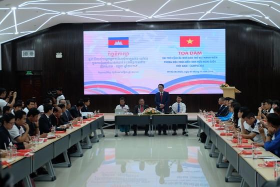 Vai trò của nhà báo trẻ và thanh niên trong việc thúc đẩy tình hữu nghị giữa Việt Nam - Campuchia ảnh 1