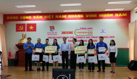 Đoàn Sở Nội vụ TPHCM giành giải nhất cuộc thi tiếng Anh trong cán bộ, công chức, viên chức ảnh 1