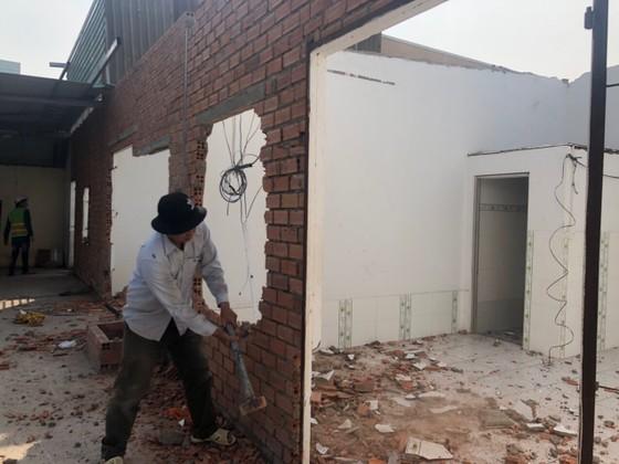 Cưỡng chế 17 công trình xây dựng không phép tại quận Thủ Đức ảnh 2