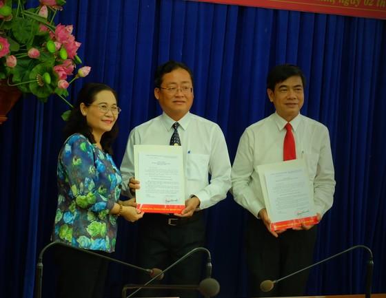 Đồng chí Trương Quốc Lâm làm Bí thư Quận ủy quận 11 ảnh 1