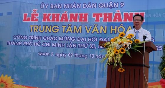 Trung tâm Văn hóa quận 9 chính thức đi vào hoạt động ảnh 2