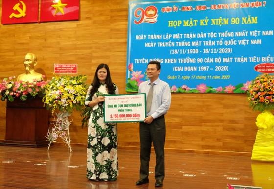 TPHCM: Nhiều địa phương kỷ niệm 90 năm Ngày truyền thống MTTQ Việt Nam ảnh 1