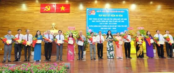 TPHCM: Nhiều địa phương kỷ niệm 90 năm Ngày truyền thống MTTQ Việt Nam ảnh 2