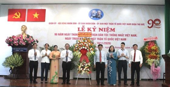 TPHCM: Nhiều địa phương kỷ niệm 90 năm Ngày truyền thống MTTQ Việt Nam ảnh 3