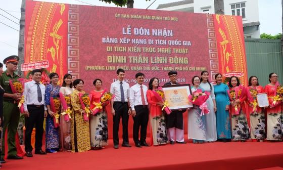 Quận Thủ Đức đón nhận Bằng xếp hạng di tích kiến trúc nghệ thuật quốc gia Đình thần Linh Đông ảnh 2