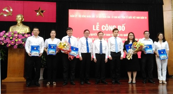 Quận Phú Nhuận và quận 10 công bố sáp nhập các phường trên địa bàn ảnh 2