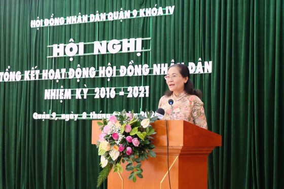Chủ tịch HĐND TPHCM Nguyễn Thị Lệ: Chọn lọc, giới thiệu đại biểu có tâm, có tầm cho HĐND Thành phố Thủ Đức ảnh 1