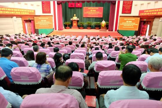 Quán triệt Nghị quyết Đại hội đại biểu Đảng bộ TPHCM lần thứ XI đến cán bộ chủ chốt TP Thủ Đức ảnh 2