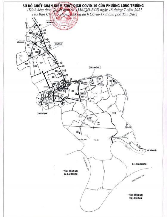 0 giờ ngày 19-7, TP Thủ Đức phong tỏa phường thứ 10 và 11 trên địa bàn ảnh 2