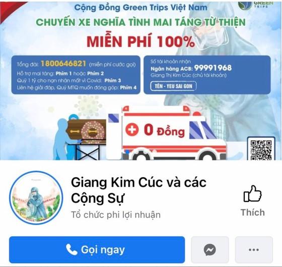 Chủ tài khoản fanpage 'Giang Kim Cúc và các cộng sự' bị phạt 10 triệu đồng ảnh 1