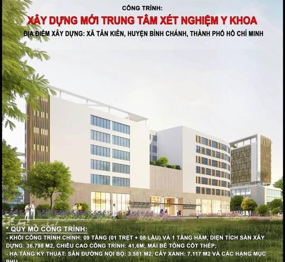 Gần 703 tỷ đồng xây dựng mới Trung tâm xét nghiệm y khoa TP ảnh 1