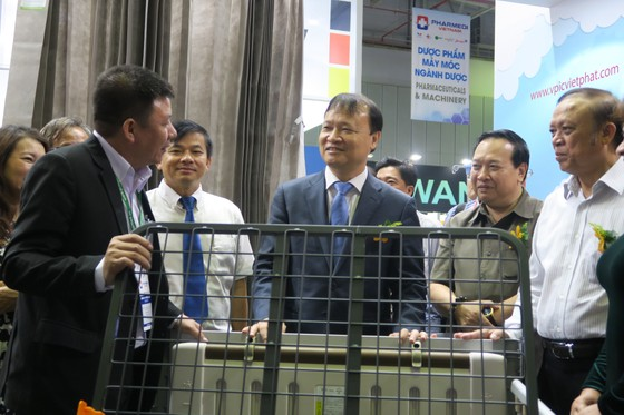 600 gian hàng tham gia trưng bày tại triển lãm y tế quốc tế Việt Nam lần thứ 14 ảnh 1
