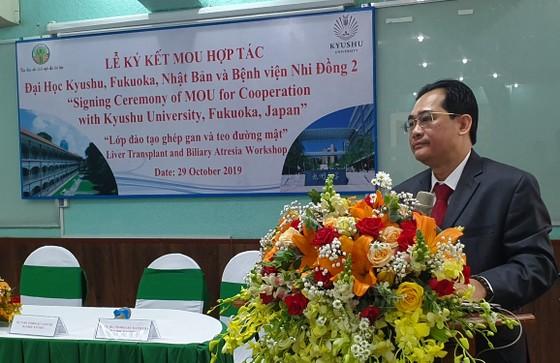 Nhật Bản hỗ trợ Bệnh viện Nhi đồng 2 tổ chức đào tạo ghép gan ảnh 1