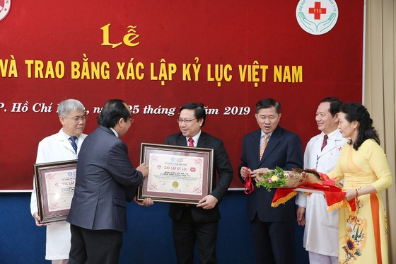 Bệnh viện Gia An 115 được xác lập Kỷ lục Việt Nam trong chẩn đoán và điều trị đột quỵ ảnh 1