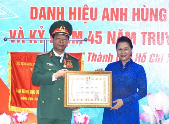 Bệnh viện Quân y 175 đón nhận danh hiệu Anh hùng Lực lượng vũ trang nhân dân ảnh 7