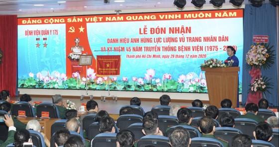Bệnh viện Quân y 175 đón nhận danh hiệu Anh hùng Lực lượng vũ trang nhân dân ảnh 3