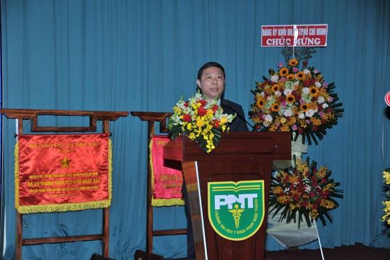 Trường Đại học Y khoa Phạm Ngọc Thạch đón nhận danh hiệu Anh hùng Lao động thời kỳ đổi mới ảnh 2