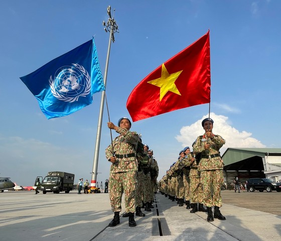 Bệnh viện dã chiến cấp 2 số 3 lên đường làm nhiệm vụ tại Bentiu, Nam Sudan ảnh 5