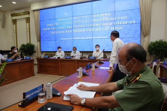 Phó Thủ tướng thường trực Trương Hòa Bình: TPHCM cần kiên trì chống dịch, không lơ là, mất cảnh giác ảnh 3