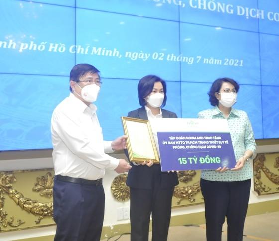 TPHCM tiếp nhận trang thiết bị y tế phòng chống dịch Covid-19 trị giá gần 250 tỷ đồng ảnh 4