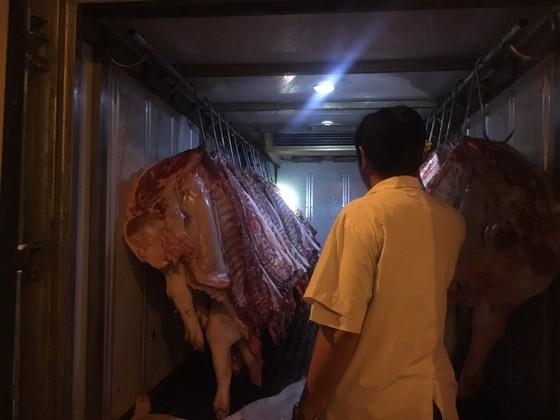 Truy xuất nguồn gốc thịt heo ở chợ đầu mối: Nơi làm nơi không ảnh 2