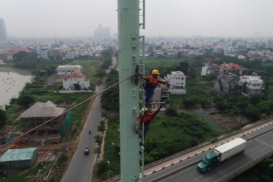Đẩy nhanh tiến độ triển khai công trình đường dây 220kV Cát Lái-Tân Cảng ảnh 1