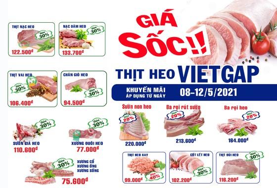 Sagrifood giảm giá thịt heo VietGAP lên đến 40%  ảnh 1
