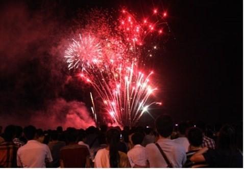 Thành phố Quảng Ngãi tổ chức bắn pháo hoa Giao thừa từ nguồn xã hội hóa ảnh 1
