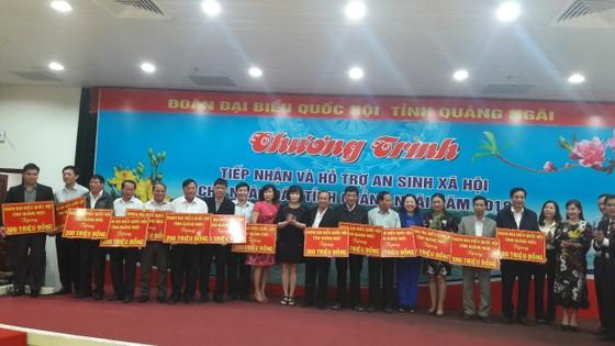 Gần 8 tỷ đồng hỗ trợ an sinh xã hội cho người dân tỉnh Quảng Ngãi ảnh 1