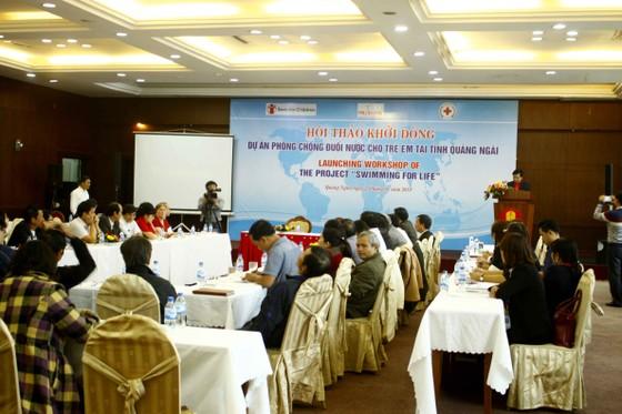 Khởi động dự án phòng chống đuối nước cho trẻ em tỉnh Quảng Ngãi ảnh 1