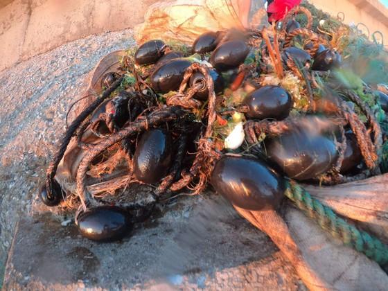 Lặn vớt rác dưới đáy biển Lý Sơn (Quảng Ngãi) ảnh 7