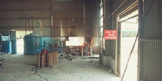 Quảng Ngãi: Nổ khí gas, 3 công nhân bị thương ảnh 1