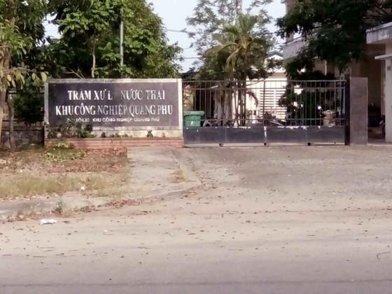 Quảng Ngãi: Trạm xử lý nước thải KCN Quảng Phú gây mùi khiến người dân bức xúc ảnh 2