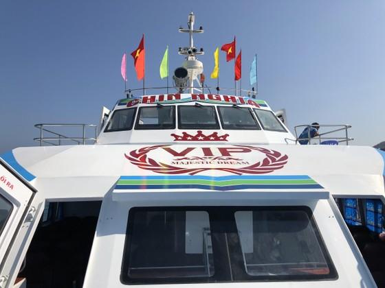 Tàu siêu tốc 22 tỷ đưa vào hoạt động tuyến Sa Kỳ-Lý Sơn ảnh 2