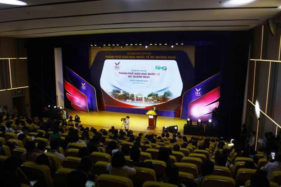 Khánh thành Thành phố Giáo dục Quốc tế-IEC Quảng Ngãi ảnh 1
