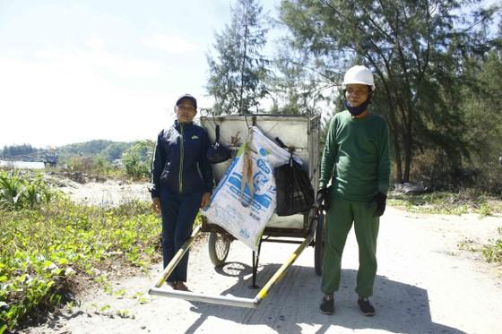 Chỉ 7 ngày, 140 người dân dọn sạch rác bãi biển Sa Cần  ảnh 4