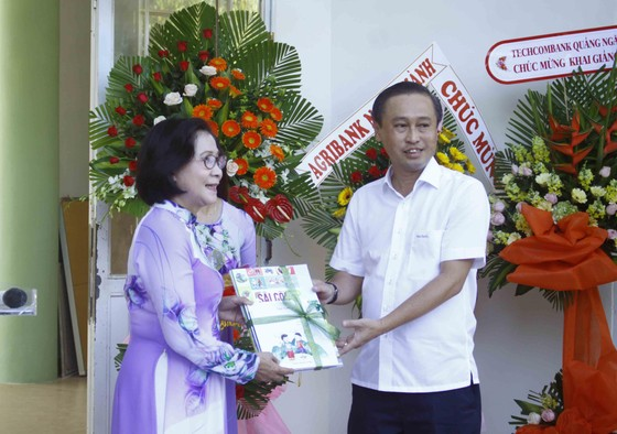 Hơn 3 tỷ đồng ủng hộ Trung tâm Nuôi dạy trẻ khuyết tật Võ Hồng Sơn ảnh 11