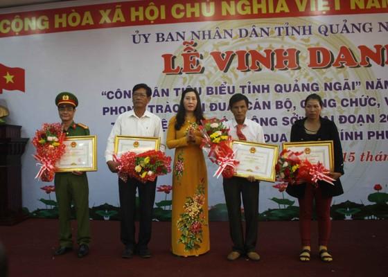 Vinh danh 9  công dân tiêu biểu tỉnh Quảng Ngãi ảnh 2