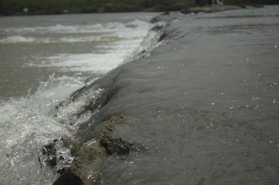 Nguy hiểm vượt sông của người dân giữa lòng sông Trà Khúc (Quảng Ngãi) ảnh 8