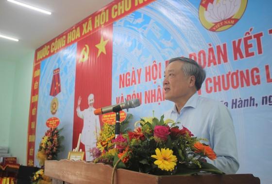 Chánh án TAND tối cao Nguyễn Hòa Bình dự ngày hội đại đoàn kết ở Quảng Ngãi ảnh 1