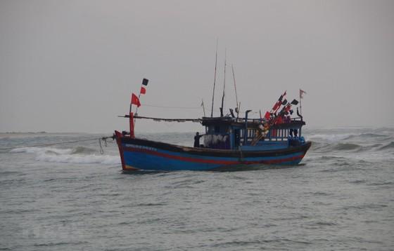 Ảnh hưởng bão số 7, 1 tàu cá Quảng Ngãi chìm vùng biển Hoàng Sa ảnh 1